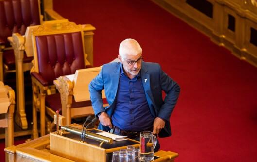 Petter Eide som sitter i justiskomiteen for SV.