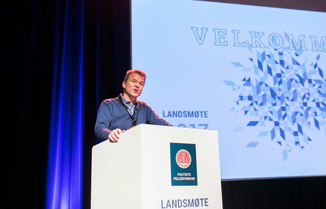 Landsmøtene til Politiets Fellesforbund har vedtatt at lønn er det viktigste området fagforeninga skal jobbe med. PF-leder Sigve Bolstad mener de følger opp.