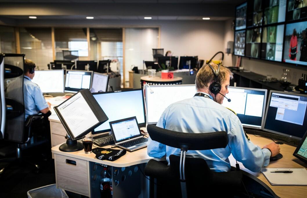 PROBLEMER: Hele Politi-Norge hadde datatrøbbel tirsdag. Politiets beredskap var ikke berørt.