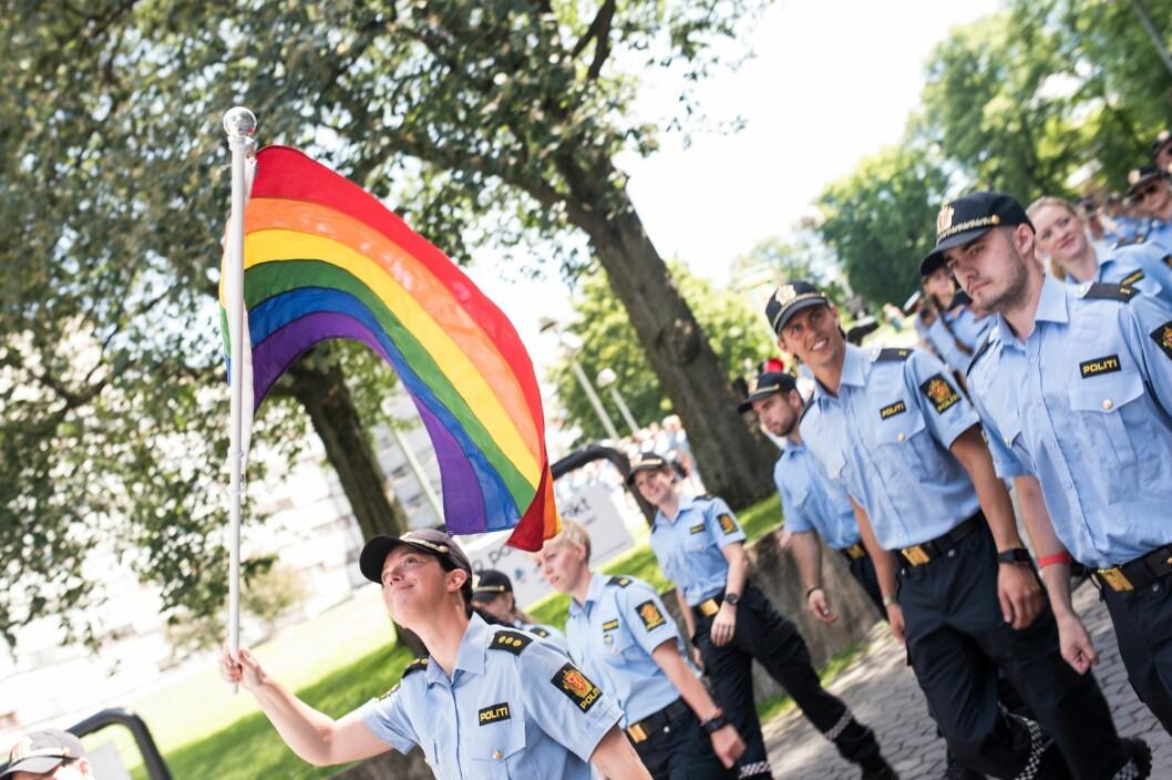 Politiet er klare for Pride-paraden i morgen.