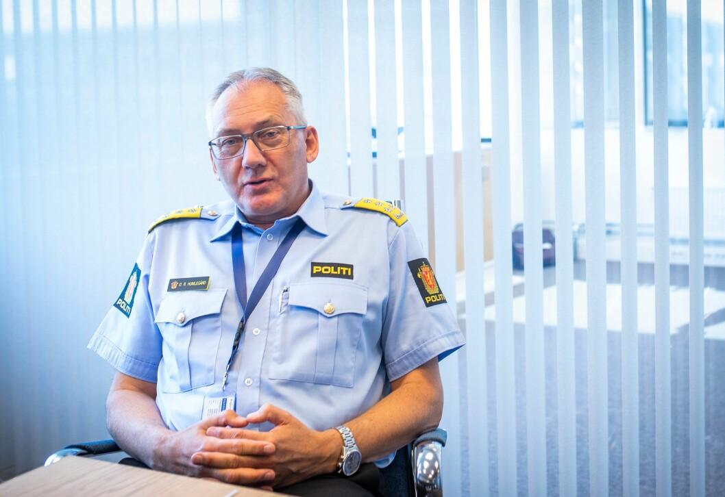 - Beredskapen er bedre: Politidirektør Odd Reidar Humlegård er sikker på at beredskapen i Norge er bedre enn for noen år siden, men erkjenner at også han har lurt på om det har vært lurt med flere store politiprosjekter på én gang.