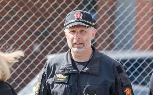 Freddy Rotseth, seksjonssjef for Politiets helikoptertjeneste