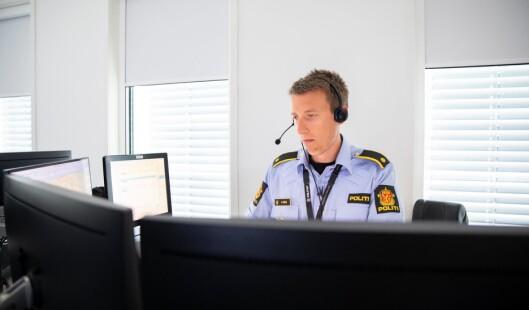 Kristian Loraas, hovedtillitsvalgt ved Felles operative tjenester i Øst politidistrikt.