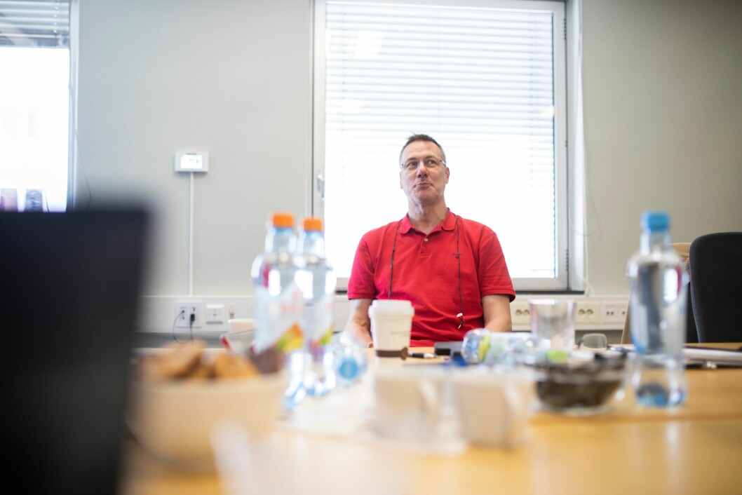 Jan Johansson, hovedverneombud i politiregion Nord i Sverige.