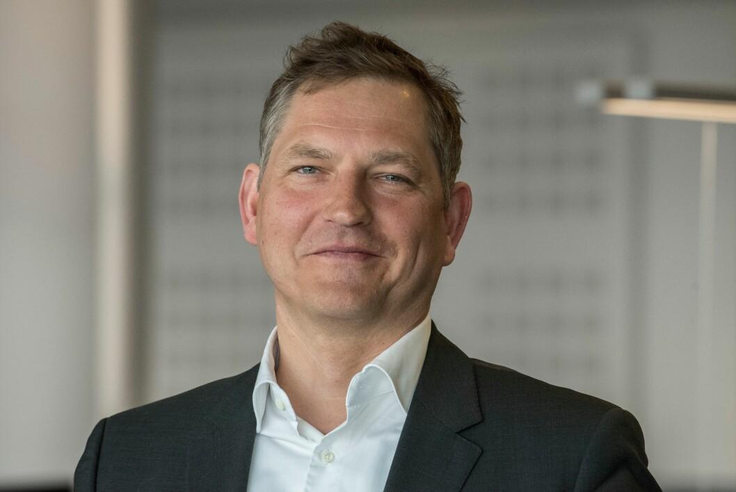 Roger Bjerke, politiets nye direktør for strategi, økonomi og virksomhetsstyring.