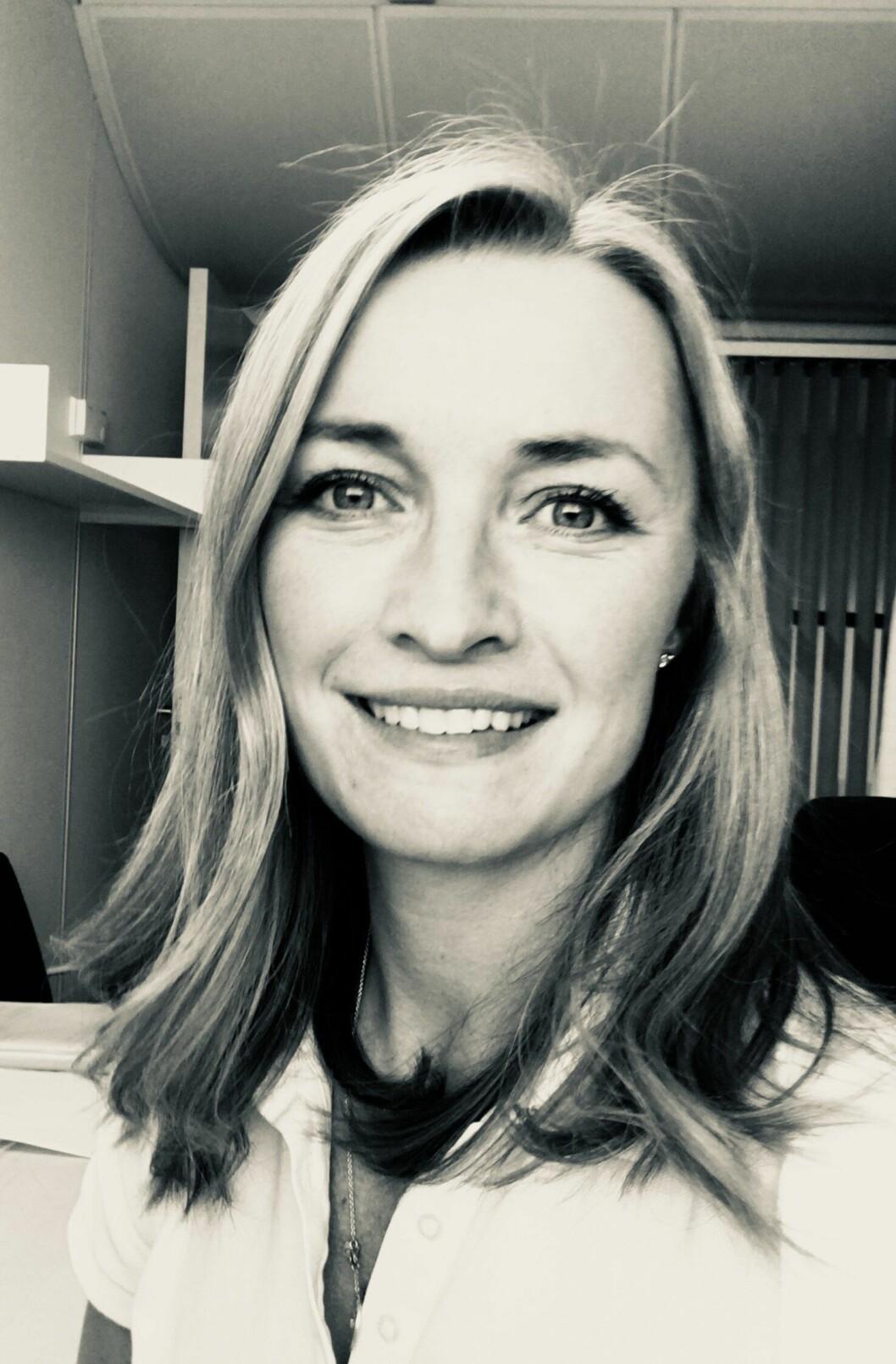 NETTSJEKK: Juridisk rådgiver Camilla Lie hos Spesialenheten, sier de gjennomgikk hetsende uttalelser om politibetjentene på Facebook.