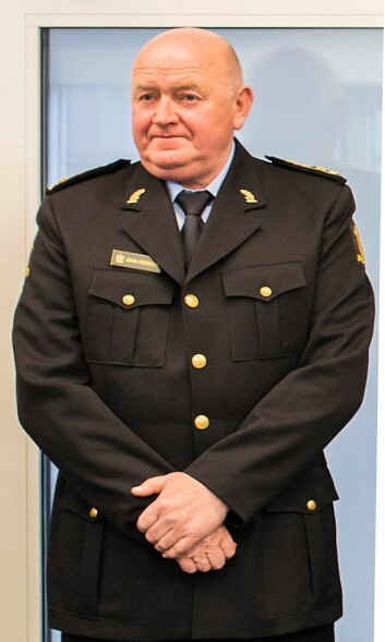 Johan Fredriksen, politiinspektør i Oslo.