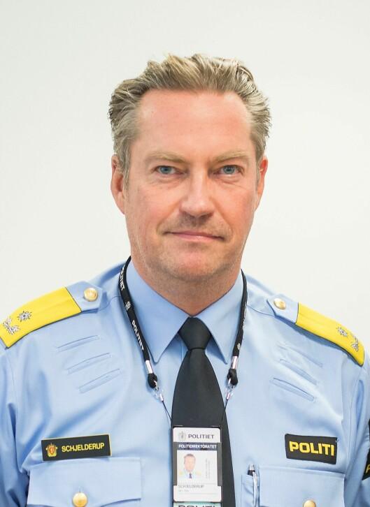 Jørn Schjelderup, seksjonssjef i POD.