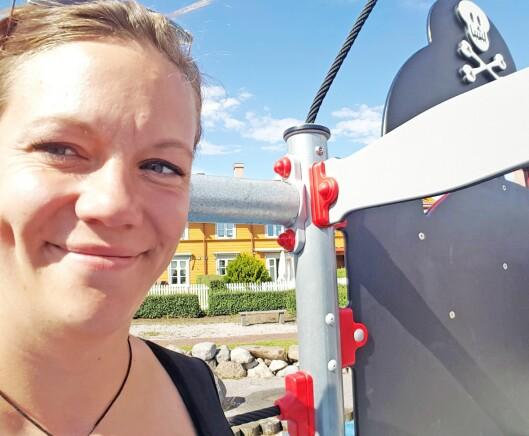 Danmark: I år går turen til utlandet for Silje og familien.