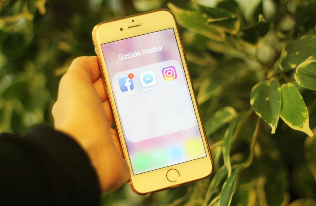 Sosialt: Politiet skal fremover møte ungdommer der de er, og skal fra høsten bruke sosiale medier i sitt arbeid