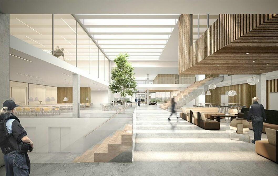 Den nye politiskolen i Vejle i Danmark, vil by på moderne fasiliteter for 288 studenter, politikadetter og 100 ansatte på videreutdanning.