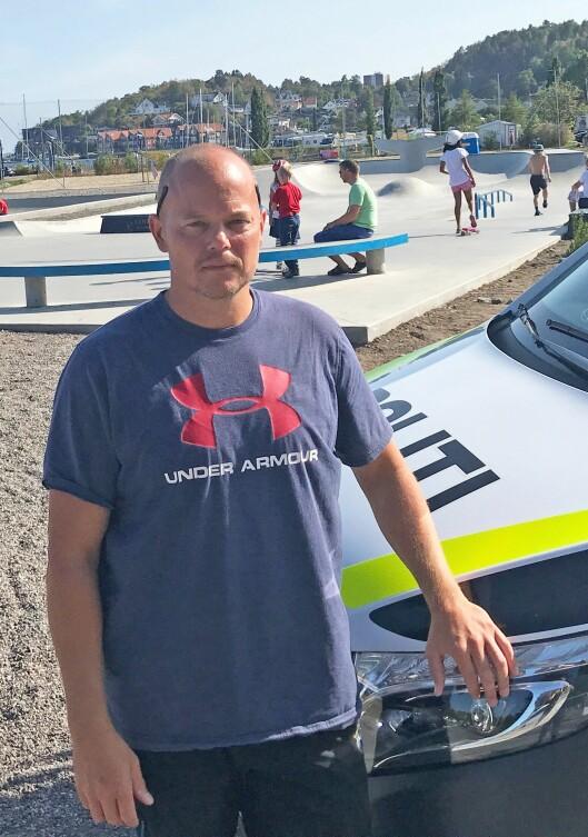 Kritisk: Tidligere leder i ungdomsgruppa i Sandefjord, Espen Molland, er kritisk til at ungdomsgruppa nå har blitt lagt ned.