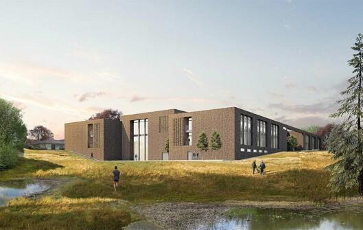 Slik ser arkitektene for seg den nye skolen.