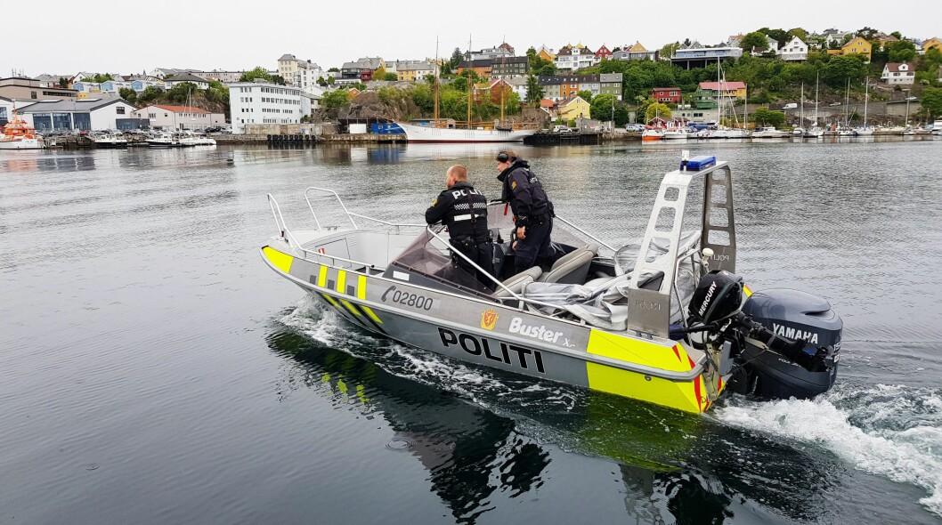 Stort område: Finnmarks store avstander gjør det utfordrende å dekke hele fylket med politibåter.