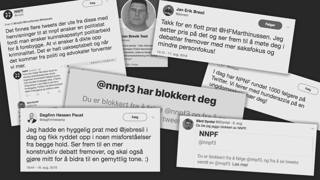 På Twitter har debatten mellom de som ønsker avkriminalisering og Norsk Narkotikapolitiforening gått hardt for seg. Helt til denna uka, da det plutselig myknet opp.