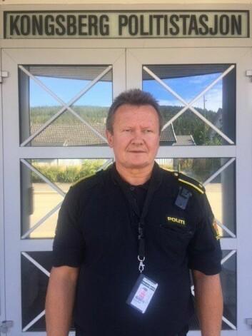 Geir Petter Nedregård, Kongsberg politistasjon