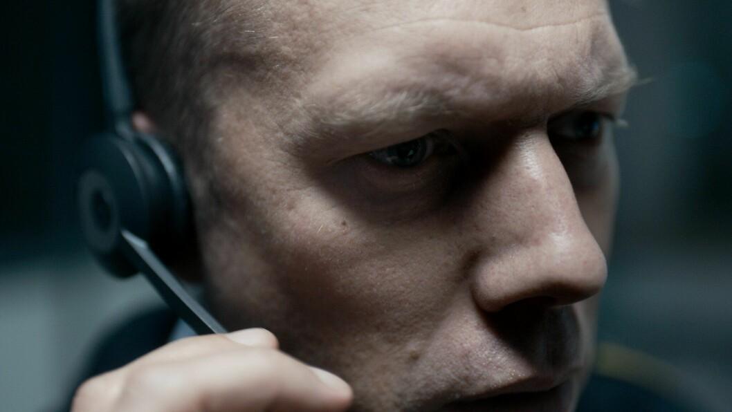 Store deler av filmen er nærbilder av politimann Asger.