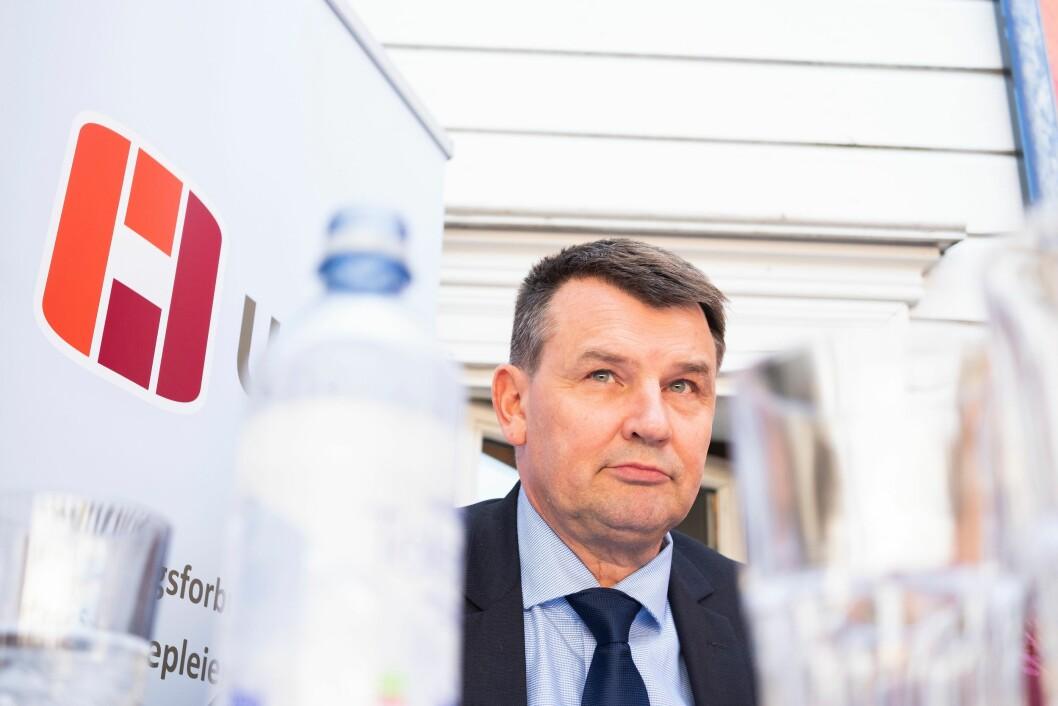 Justisminister Tor Mikkel Wara (Frp).