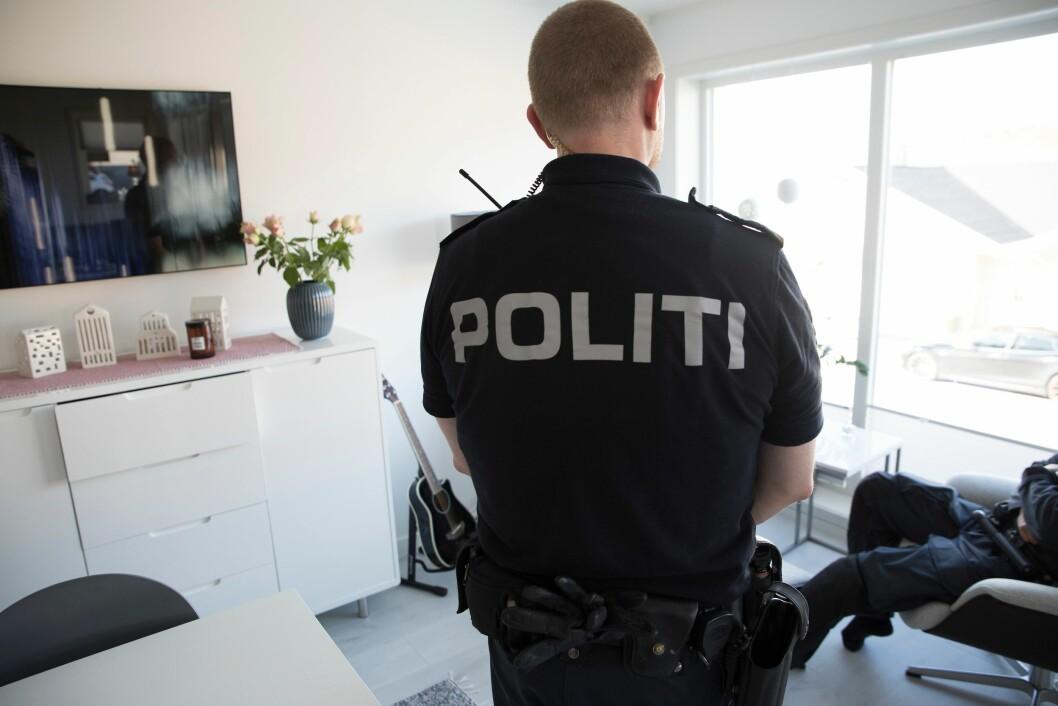 Artikkelforfatteren stiller spørsmål ved lovligheten av de nye arbeidsavtalene i politiet. (illustrasjonsfoto)