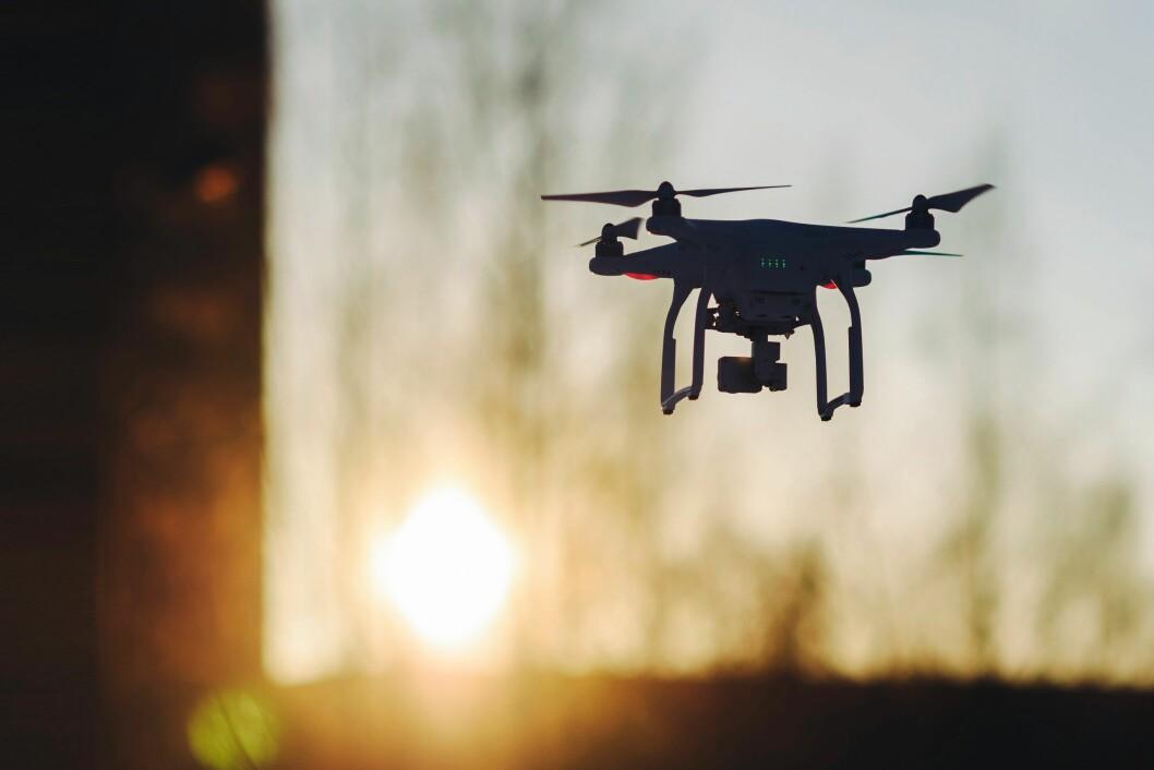 Snart kommer dronene til å gjøre sitt inntog i norsk politi.