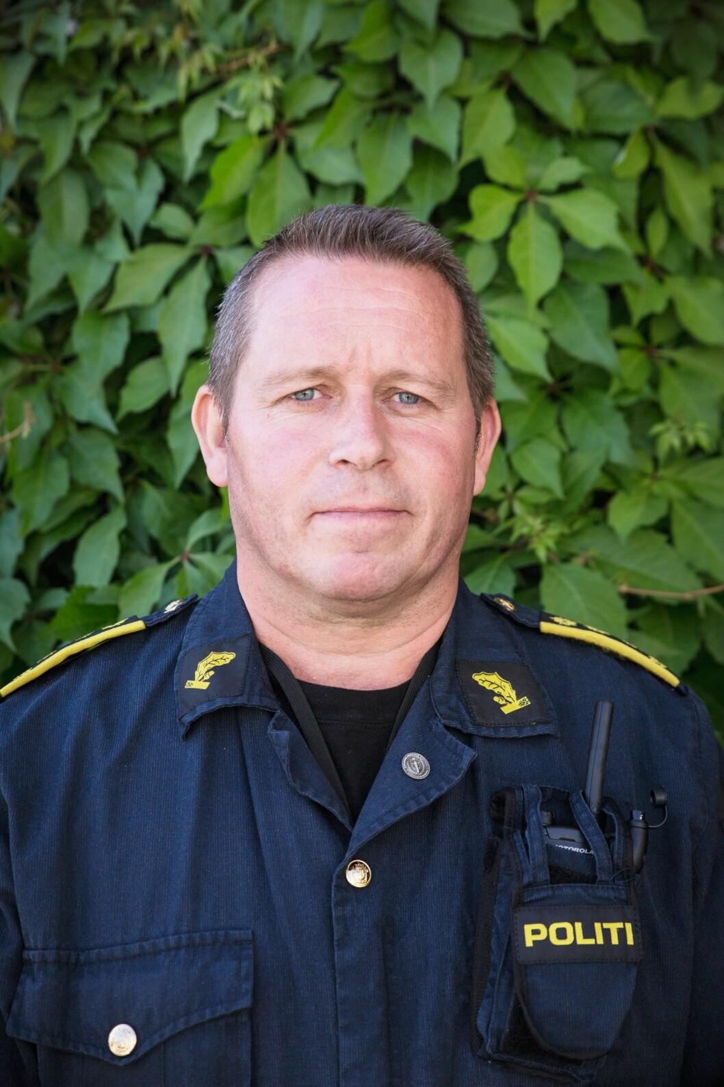 Johnny Lian, sjef for Bombetjenesten.