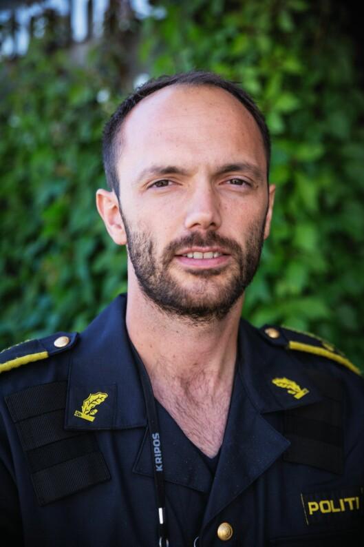 Jørgen Lunde Ronge, fagansvarlig for drone.