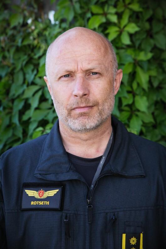 Freddy Rotseth, sjef for Politiets Helikoptertjeneste.