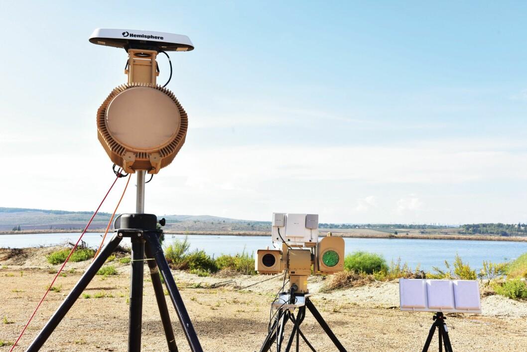 DOMEDAG: Det militært utviklede, israelske systemet Drone dome, er blant det mest sofistikerte på markedet i dag. Systemet kan sette droner ut av spill på mange forskjellige vis, hvorav det mest drastiske er å smelte droner med laser.