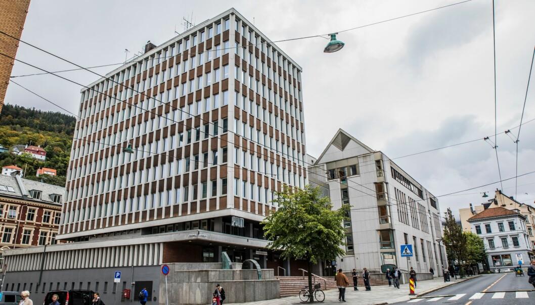 Politihuset i Bergen ble bygget i 1964 og utvidet i 1994.