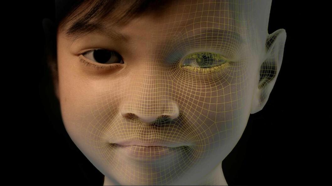 Dette er Sweetie, en digital personifisering av en 10 år gammel jente, som har blitt brukt til å avsløre nettovergripere.