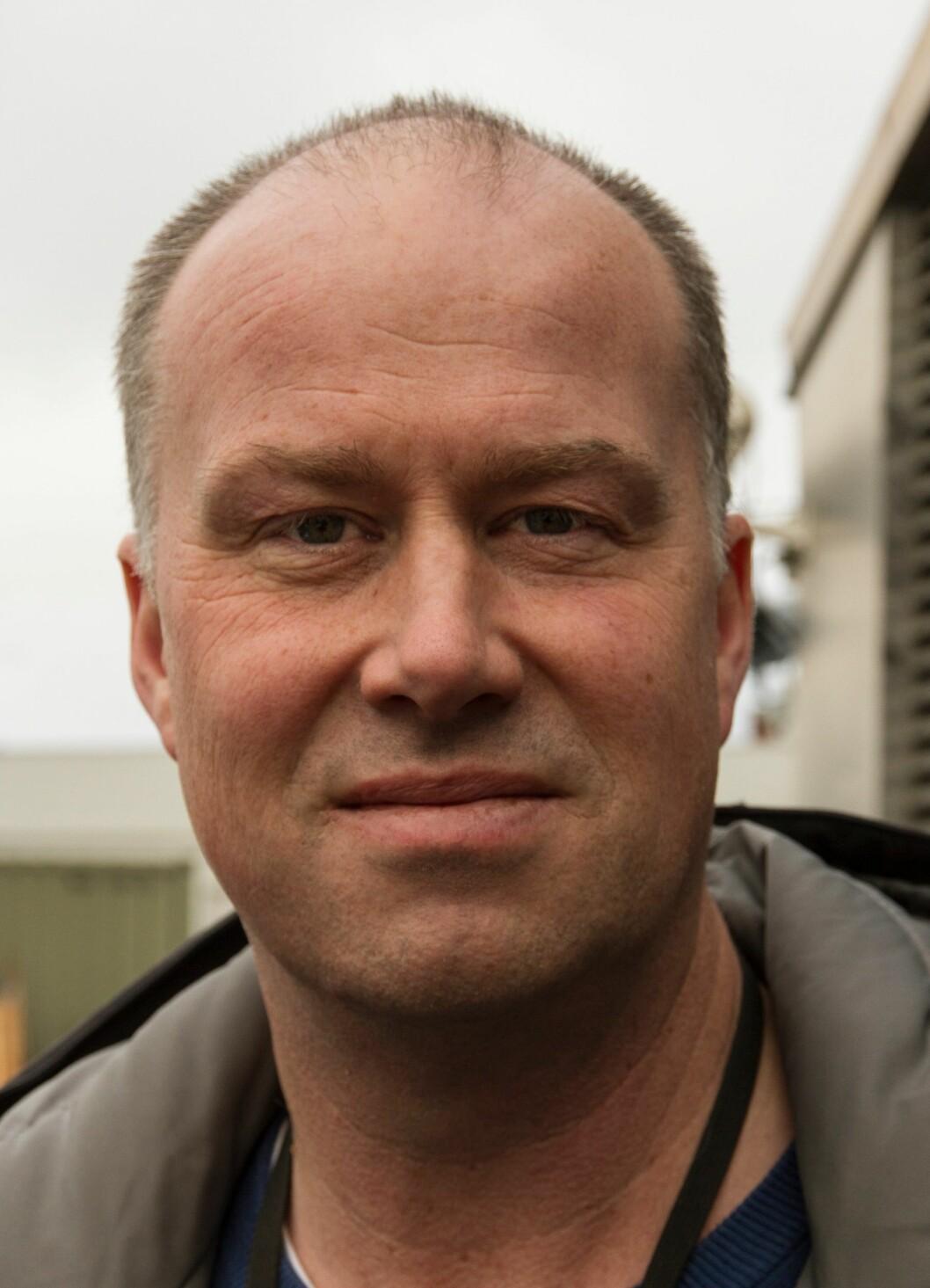 Tor Paulsen, sjefen for hundetjenesten i Oslo.