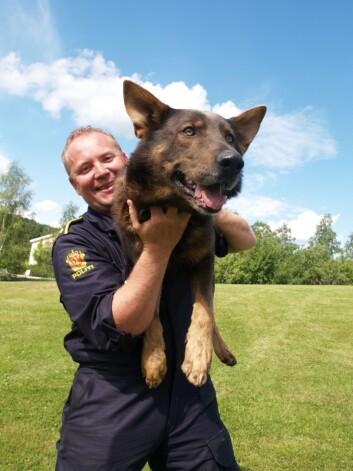 Trond Rune Sunde, hundesjef i Sør-Vest politidistrikt.