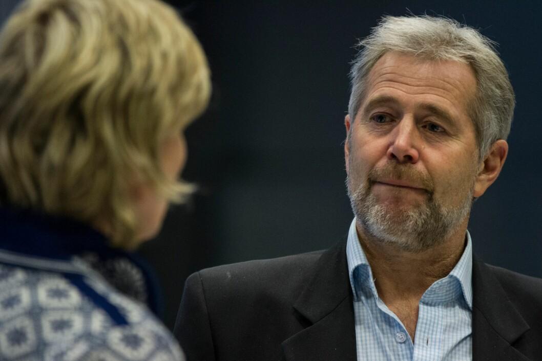 Arne Johannessen, tidligere PF-leder og nå politileder i Vest politidistrikt.
