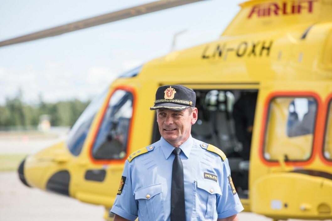 Avdelingsdirektør for beredskap i POD, Knut Smedsrud.