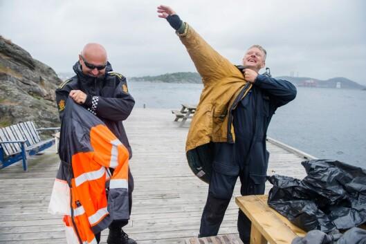 KNOLL OG TOTT: Henry og kollegaen Rune Solstad har jobbet sammen i mange år.