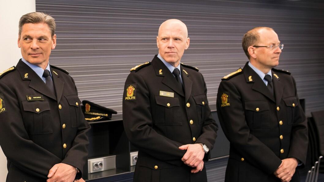 Terje Nybøe (i midten)