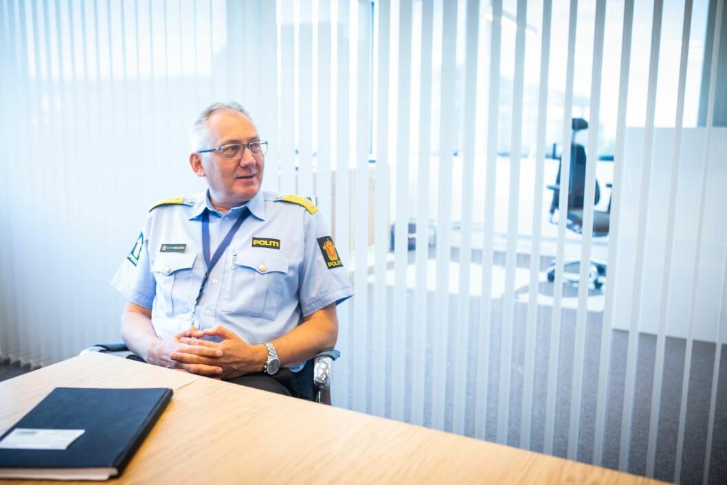 Odd Reidar Humlegård ble i dag tvunget til å offentliggjøre sin avgang.