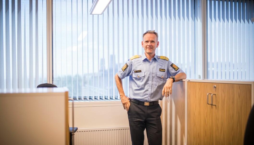 Håkon Skulstad, assisterende politidirektør, konstaterer at politiet har behov for milliardøkninger i budsjettet også i årene som kommer.