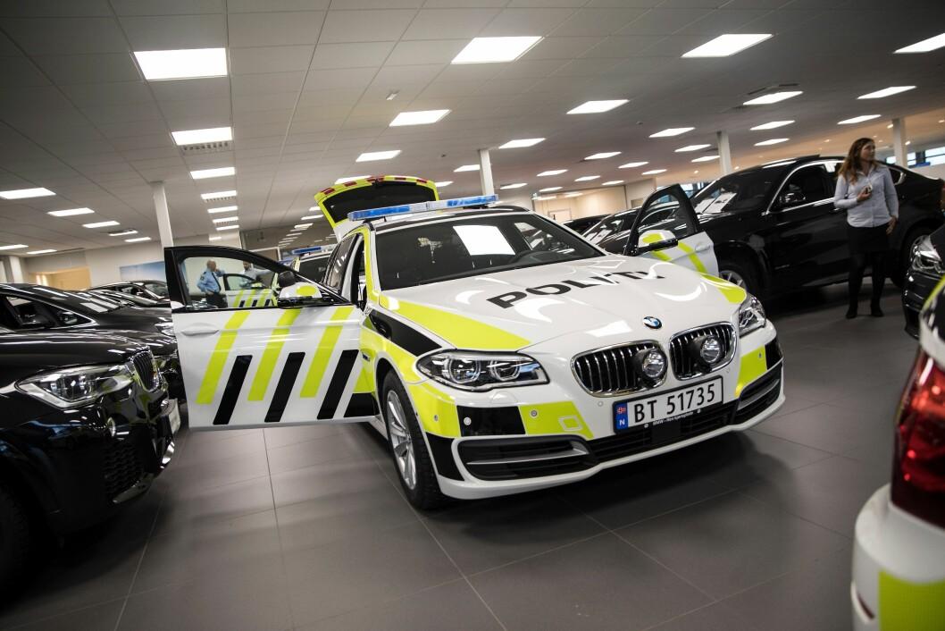 Splitter nye BMW-er til levering. Disse er på plass i mange distrikter, og har bidratt til å senke snittalderen på bilparken noe.