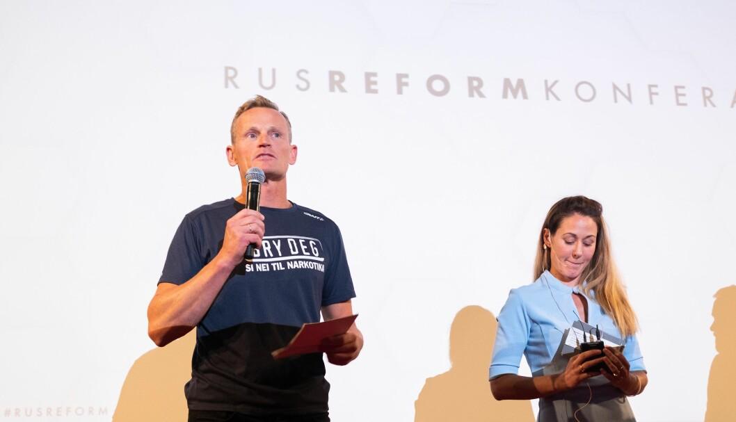 NNPFs Torbjørn Trommestad deltok på Rusreformkonferansen som ble arrangert av Ina Roll Spinnangr og resten av Foreningen tryggere ruspolitikk i august. De er uenige om deler av hva rusreformen bør inneholde.