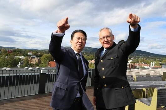 Nylig avgåtte Interpol-president Meng Hongwei besøkte Odd Reidar Humlegård og Politidirektoratet seint i september. Bare noen dager senere forsvant han, før det ble klart at han var arrestert i hjemlandet Kina.