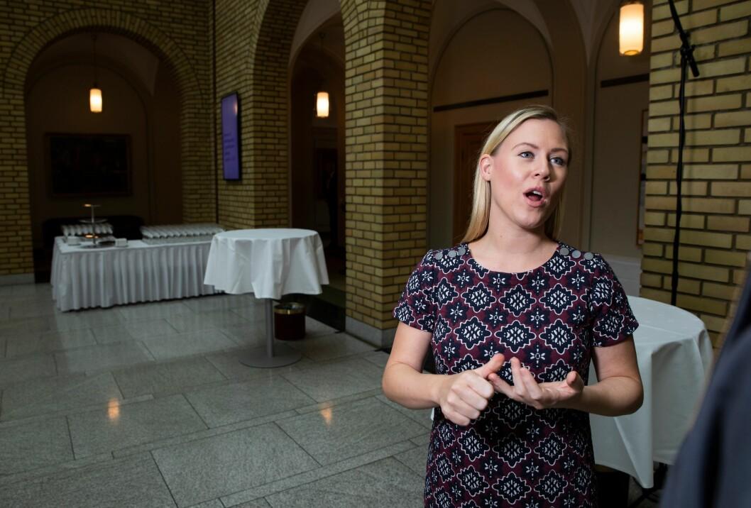 Lene Vågslid, leder for justiskomiteen for Arbeiderpartiet.