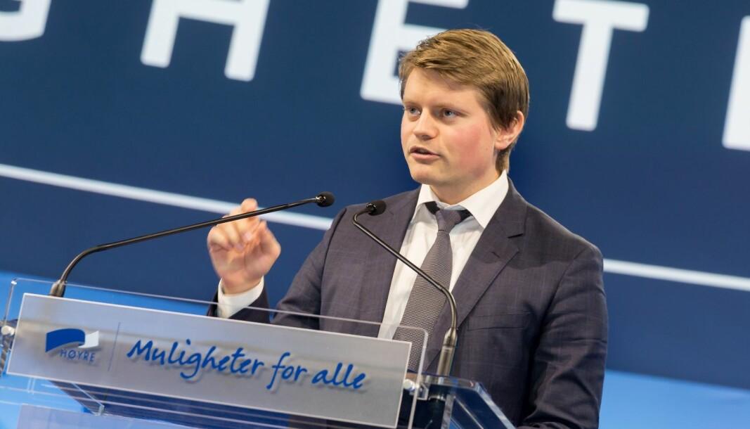 Høyre-politiker Peter Frølich er andre nestleder i justiskomiteen.