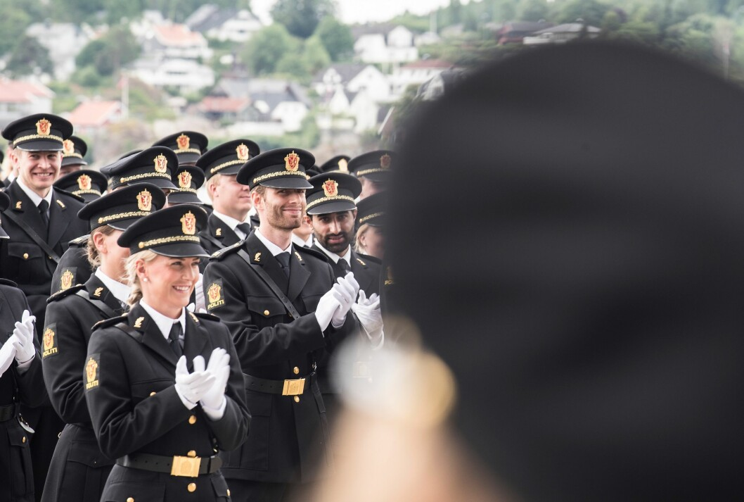Nyutdannede politifolk jublet for eget vitnemål i fjor. Jubelen vil trolig være mer avmålt hos kullet som går ut i 2019.