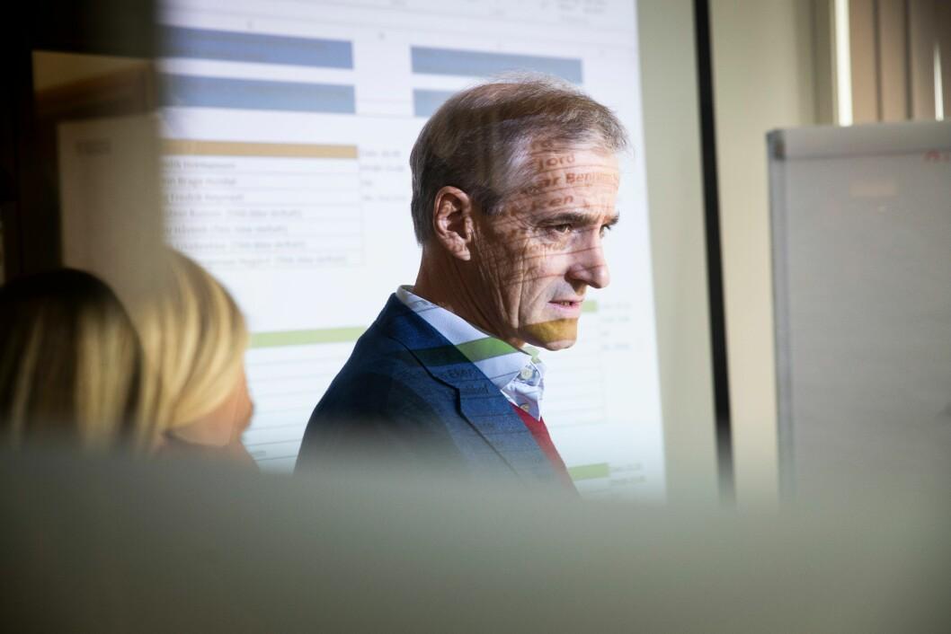 REFORM: Sammen med Høyre, Frp og KrF var Arbeiderpartiet selv en del av stortingsforliket i 2015. Fire år senere mener Ap-lederen at reformen bryter med prinsippene som lå til grunn for stortingsforliket.