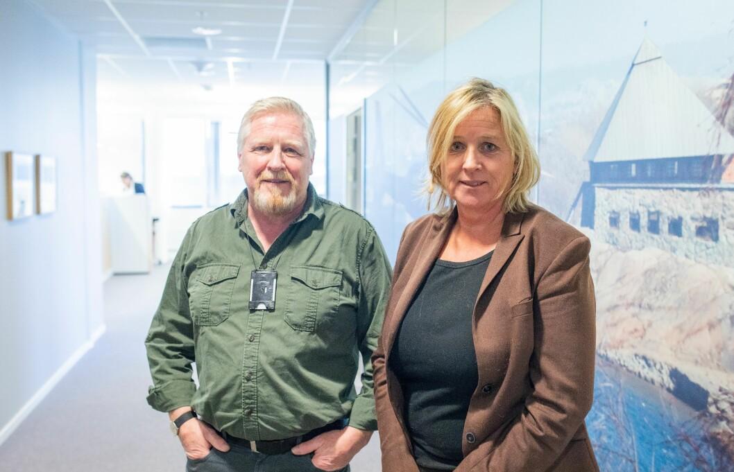 Bjørn Arne Helland og Kristin Kvigne