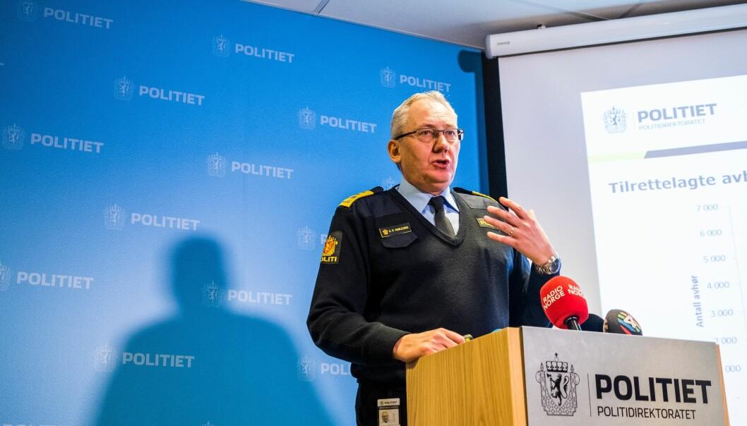 Odd Reidar Humlegård skal slutte som politidirektør når åremålet utløper 23. november.
