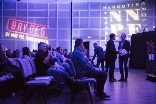Norsk Narkotikapolitiforening (NNPF) avholdt sin Utdanningskonferanse på Fornebu.