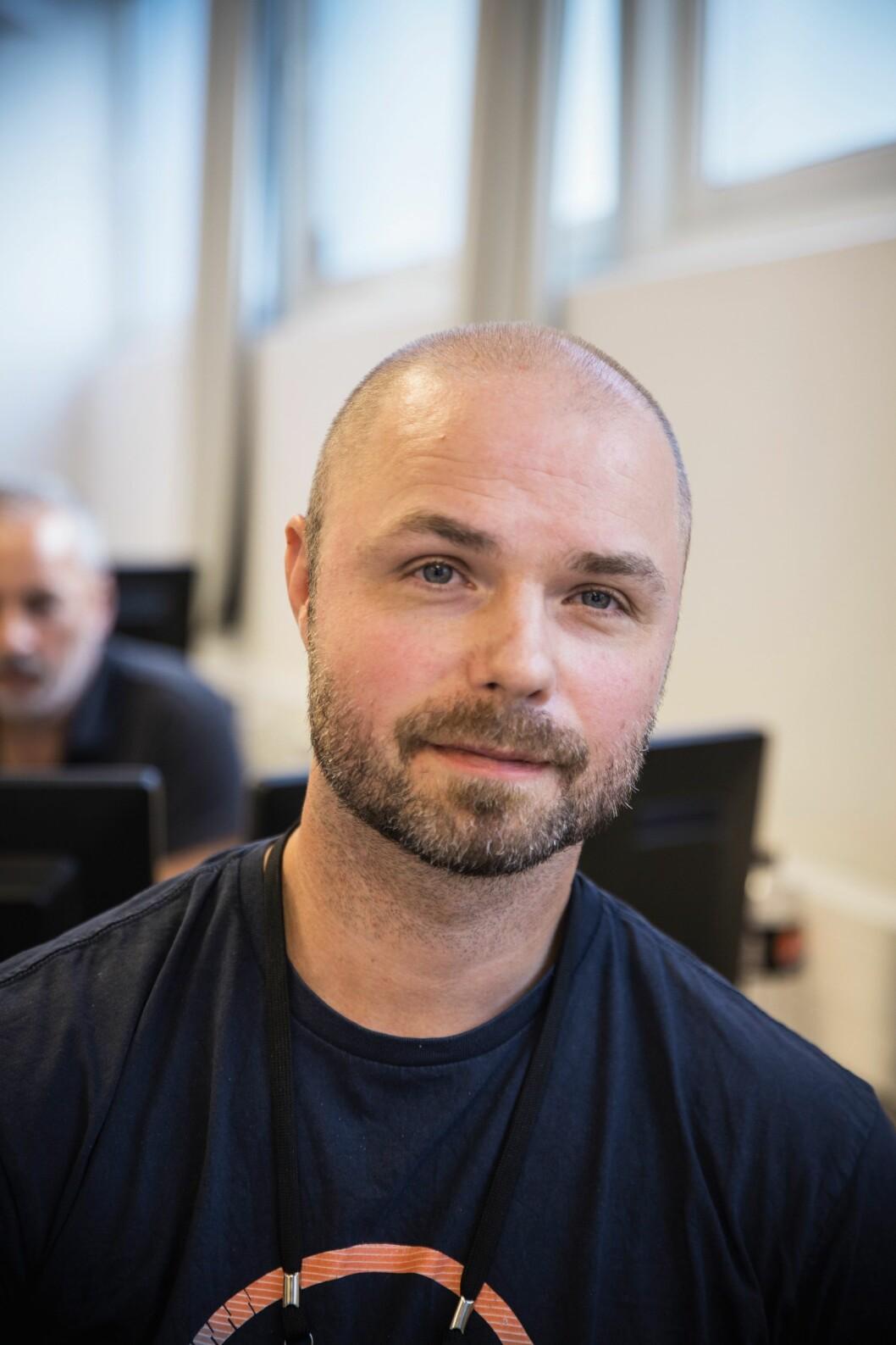 Politibetjent Trond Hangaas fra operasjonssentralen i Trøndelag.