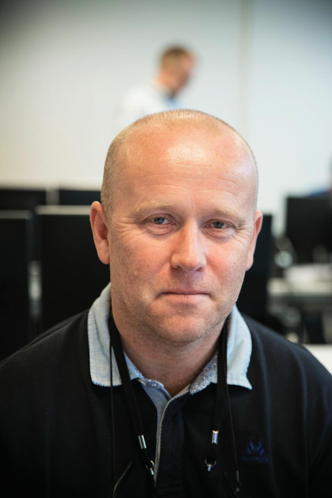 Oppdragsleder Tor Andre Gram Franck fra Møre og Romsdal.